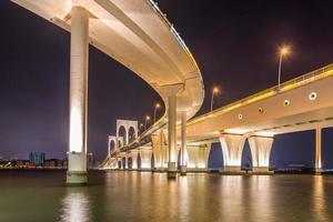 Macau, China 2015 : The night of Sai Van bridge photo