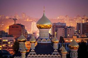 Pokrovsky monastery in Kyiv photo