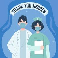 Thank You Healthcare Heroes for Fighting Coronavirus