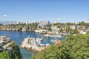 harbor in Antalya, Turkey