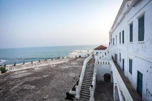castelo da costa do cabo, gana, áfrica ocidental