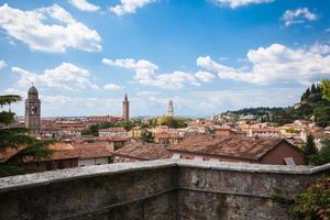 View of  Verona and Adige river, Veneto, Italy
