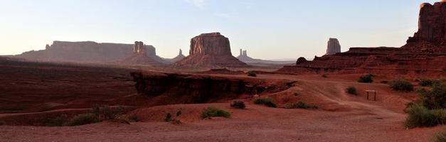 Dry Barren Monument Valley