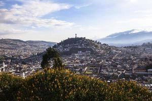 Viewpoint in San Juan, Quito. photo