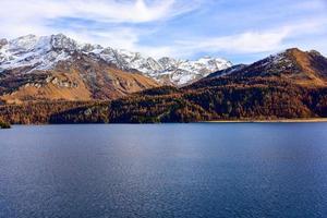 Large Panoramic of  Lake photo