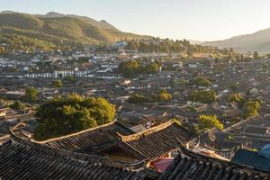 Lijiang old town in the morning