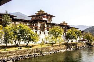 the dzong of Punakha