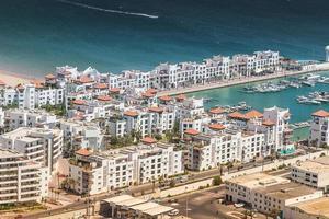 City view of Agadir, Morocco photo