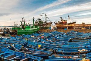 At the port of Essaouira, Morocco
