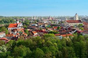 Panorama of Vilnius photo