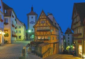 Rothenburg ob der Tauber,Franconia,Bavaria