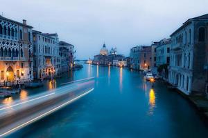 Grand canal after sunset photo