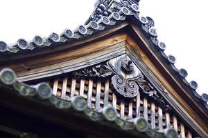 Japanese temple arc ceiling