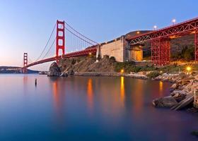puente Golden Gate al amanecer