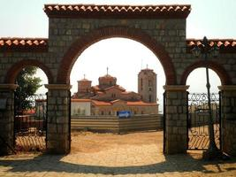 Monastery in Ohrid photo