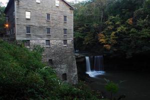 Lanterman's Mill in Autumn Series photo
