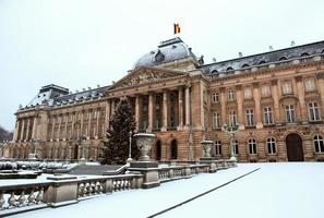 Royal Palace in Brussels