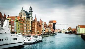 historic city of Gdansk photo