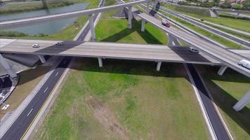 Luftbild des 595-Autobahnkreuzes in Fort Lauderdale fl