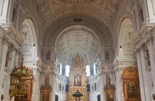 Interior of the St. Michael Church in Munich photo