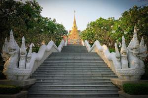 Marble Thai temple