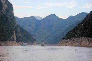 Boat on the Yangtze River, China