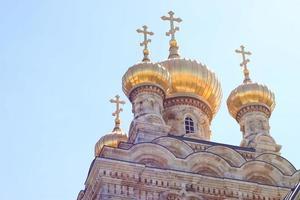 Orthodox church in Jerusalem