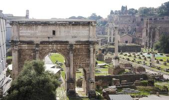 Roman Forum. Here there was the social life of   city.
