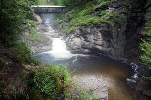 Flume Gorge, New Hampshire photo