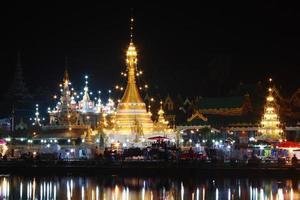Jong Kham and Jong Klang temple