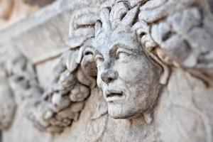 Stone decorations in Aphrodisias photo
