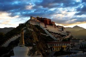 The potala palace,in Tibet of China