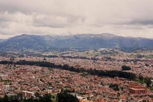 Aerial View Of Cuenca City