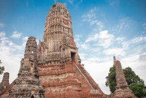 Old public temple at Thailand