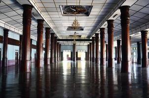 Inside of  Wat  Sao Roi Ton Temple, Myanmar