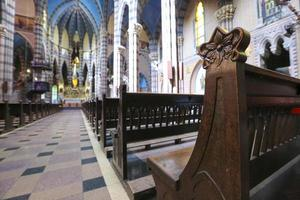 iglesia de los capuchinos, córdoba (argentina) foto
