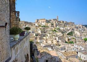 The Sassi of the Rupestrian city of Matera