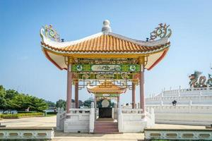 Golden Chinese Pavilion