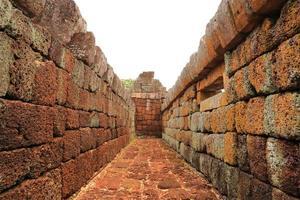 The Wall of Prasat Hin Phanom Rung