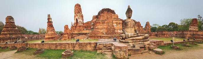 Wat Mahathat. Panorama