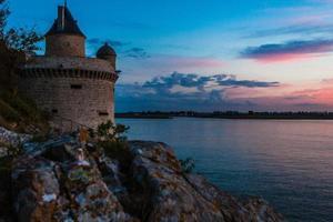 France. Normandy. Mont Saint-Michel (Mont Saint Miché)