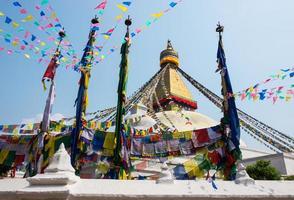 Estupa de Bodnath en Katmandú, Nepal