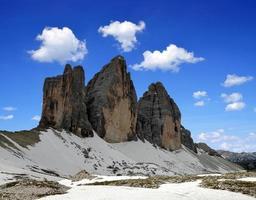 Tre cime di Lavaredo photo
