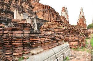 Ayutthaya Historical Park, Thailand photo
