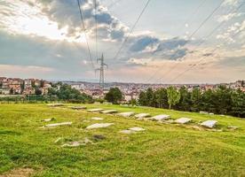 Old Jewish cemetery in Pristina photo