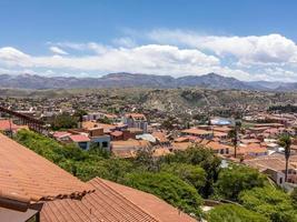 skyline of Sucre, Bolivia photo