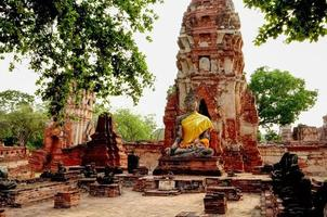 The palace complex Ayutthaya Thailand