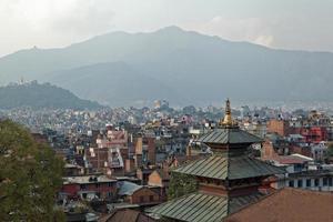 Lalitpur, Kathmandu rooftop view photo
