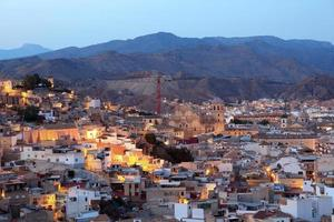 Old town of Lorca, Spain photo