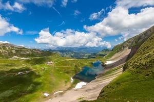 Aerial view of Eisee near brienzer Rothorn
